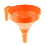 Product image for Straight straining funnel w/handle,180mm