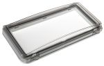 Product image for Smoked Inspection window,IP65, 248x128mm