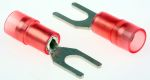 Product image for Red M4insul spade terminal,0.5-1.5sq.mm