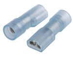 Product image for Blue shroud receptacle,4.8Wx0.5Tmm