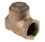 Product image for Bronze swing check valve,2in BSPT