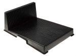Product image for L shape PCB rack w/25 slot,356x265x127mm