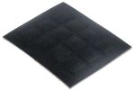 Product image for Dychem-square anti-slip pad,20.5mm/3mmH
