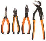 Product image for 4 piece ergonomic pliers set
