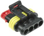 Product image for Superseal 1.5 4 way plug housing