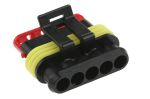 Product image for Superseal 1.5 5 way plug housing