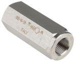 Product image for 1/2in BSP s/steel inline nonreturn valve