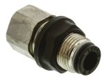Product image for Female bulkhead push-in conn,G1/8x6mm