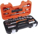 Product image for 33 piece Bahco socket set
