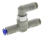 Product image for Pneumatic AND gate shuttle valve,4mm