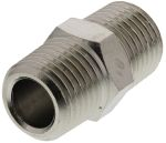 Product image for Male BSPT nipple adaptor,R1/4xR1/4