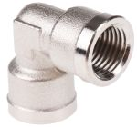 Product image for Female BSPP elbow connector,G1/4xG1/4