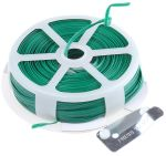 Product image for Plastic coated tie wire,50m