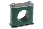 Product image for Steel single clamp,38mm OD hose