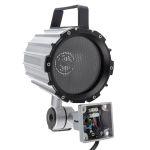 Product image for Short arm halogen machine light,70W 24V