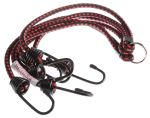 Product image for 6hooks elastic spider shock strap,32in L