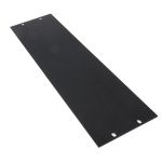 Product image for Black finish 19in front panel,483x132mm