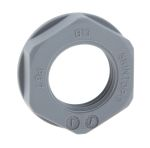 Product image for Locknut, nylon, grey, PG7, IP68