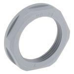 Product image for Locknut, nylon, grey, PG21, IP68