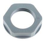 Product image for Locknut, nylon, grey, M16, IP68