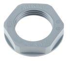 Product image for Locknut, nylon, grey, M20, IP68
