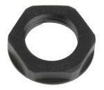 Product image for Locknut, nylon, black, M16, IP68