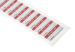 Product image for Red writeon metallised label 'DO NOT USE