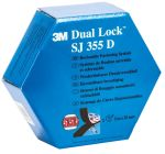 Product image for Blk Dual Lock reclosable fastener25mmx5m