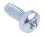 Product image for Pan head metal thread form screw,M5x12mm