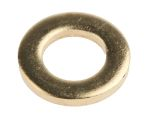 Product image for Self colour brass metric washer,M6