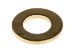 Product image for Self colour brass metric washer,M8