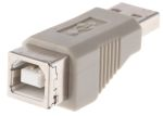 Product image for USB A (M) - USB B (F) gender changer 2.0