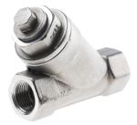 Product image for S/steel Y strainer valve,3/8in BSPP F-F