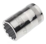 Product image for 1/2in sq drive,socket,17 mm A/F