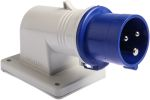 Product image for IP44 2P+E appliance inlet conn,16A 230V