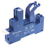 Product image for DIN Rail/Surface mount socket,16A, SPCO