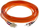 Product image for ST-SC patchlead OM1 Duplex Orange 10m