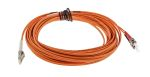Product image for LC-ST patchlead OM1 Duplex Orange 10m