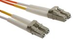 Product image for LC-LC patchlead OM1 Duplex Orange 5m