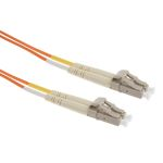 Product image for LC-LC patchlead OM1 Duplex Orange 1m