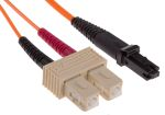 Product image for MJ-SC 62.5/125 Orange 1m patchcord
