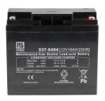 Product image for RS Sealed lead-acid battery,12V 18Ah