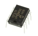 Product image for 8 bit microcontroller,PIC12F675-I/P DIP8