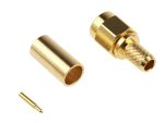 Product image for crimp SMA straight plug - RG58 A cable