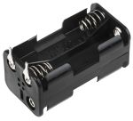 Product image for Four cell AA  PCB mount battery holder