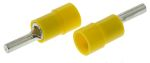 Product image for Yellow crimp pin connector,4-6sq.mm