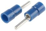 Product image for Blue crimp pin connector,1.5-2.5sq.mm