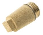 Product image for Silencer male 1/2in. BSPP