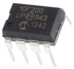 Product image for Micro,PIC,384B Flash,DIP8,PIC10F200-I/P