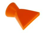 Product image for 1 in. Flared nozzle (1/4in.bore)